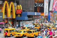 Place de New York Times images libres de droits