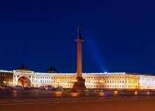 Place de palais à Sankt-Pétersbourg Photographie stock