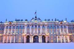 Place de palais d'hiver, St Petersburg, Russie photo stock