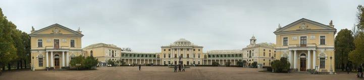 Place de palais de St Petersburg, Russie Photographie stock