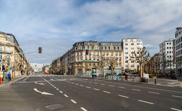 Place de Paris in Luxembourg city Royalty Free Stock Photo
