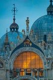 Place de Piazza San Marco St Mark, Venise, Vénétie, Italie du nord-est images stock