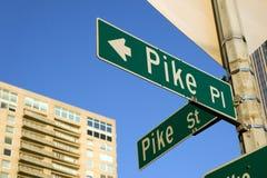 Place de Pike Images libres de droits