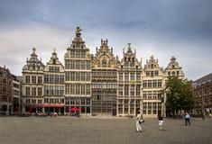 Place de quintal d'Antwerpen, Belgique Images stock