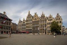 Place de quintal d'Antwerpen, Belgique Photos libres de droits