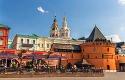 Place de révolution à Moscou Images libres de droits