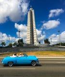 Place de révolution et le mémorial de José Martà photo stock