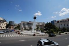 Place de révolution, voiture, ciel, point de repère, zone métropolitaine Photographie stock libre de droits