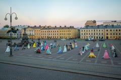 Place de sénat, à Helsinki image stock