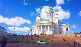 Place de sénat de Helsinki photographie stock libre de droits