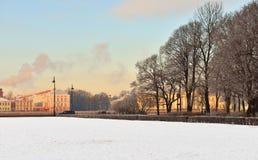 Place de sénat (St Petersbourg) images libres de droits