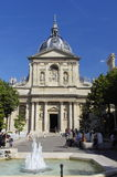 Place de Sorbonne in Paris. Royalty Free Stock Images