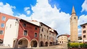 Place de St Marco, Pordenone image libre de droits
