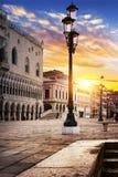 Place de St Mark Venise photo libre de droits