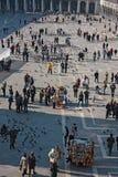 Place de St Mark, vue d'en haut images libres de droits
