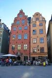 Place de Stortorget à Stockholm photographie stock