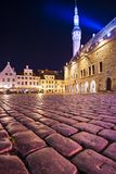 Place de Tallinn Estonie Images stock