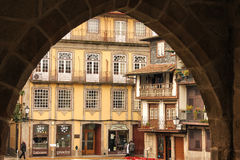 Place de Tiago de sao Guimaraes portugal photos libres de droits