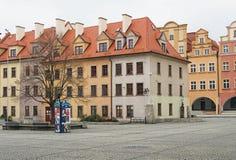 Place de Townhall, Jelenia Gora, Pologne Image libre de droits