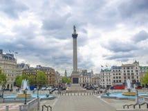 Place de Trafalgar, Londres photo libre de droits