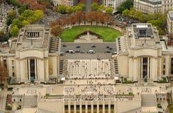 Place de Trocadero à Paris, France Photographie stock libre de droits