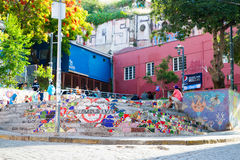 Place de Valparaiso Images libres de droits