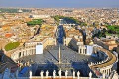 Place de Vatican Photographie stock