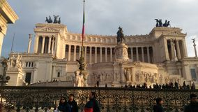 Place de Venise à Roma image stock