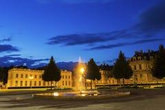 Place de Verdun in Grenoble, France Stock Image