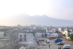 Place de village de Nanping Images libres de droits