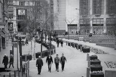 Place de ville à Manchester Image libre de droits