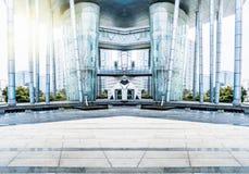 Place de ville Photo libre de droits