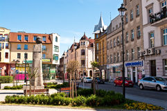 Place de ville de Grudziadz Photos libres de droits