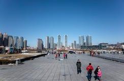 Place de Xinghai Photographie stock