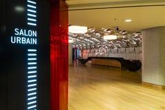 Place des Arts The Salon Urbain Royalty Free Stock Images