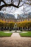 Place des de Vogezen, Parijs Stock Afbeeldingen