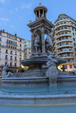 Place des Jacobins in Lyon in France Royalty Free Stock Images
