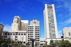 Place des syndicats à San Francisco, la Californie, place d'UsaUnion dans S images libres de droits
