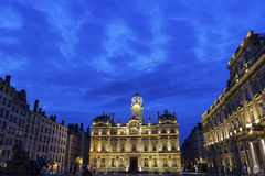 Place des Terreaux in Lyon, France Stock Photo