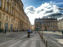 Place des terreaux, Lyon, France Stock Photography
