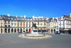 Place des Victoires Royalty Free Stock Photo