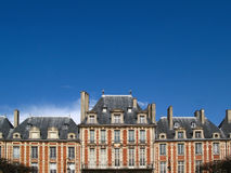 Place des Vosges 02, Paris, France stock photos