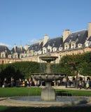 Place des Vosges Paris stock photography