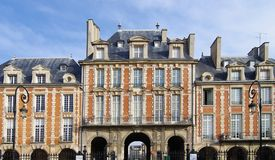 place des vosges in Paris Royalty Free Stock Image