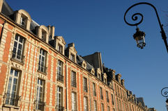 Place des Vosges in Paris Royalty Free Stock Photo