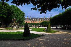 Place des Vosges in Paris Royalty Free Stock Photos