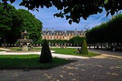 Place des Vosges in Paris Royalty Free Stock Photos