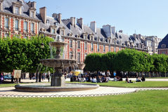 Place des Vosges, Paris Stock Photos