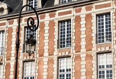 Place des Vosges, Paris - building stock photos