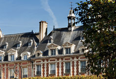 Place des Vosges, Paris - building Stock Images